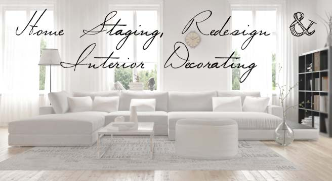 Home Staging, Redesign & Interior Decorating