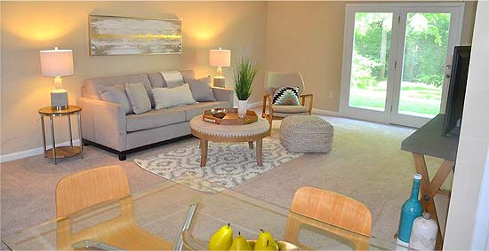 Click For Gallery - Townhouse Staging, Coatesville, PA